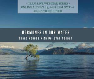 Grand Rounds: Hormones in Our Water