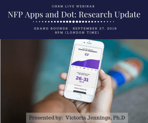 Grand Rounds: NFP Apps and DOT Research Update