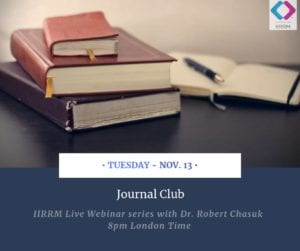 Journal Club:  The Effect of Intravenous immunoglobulin on Th1 and Th2 lymphocytes and improvement of pregnancy outcome in recurrent pregnancy loss