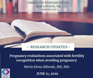 June Research Updates: Pregnancy evaluations associated with Fertility Recognition when Avoiding Pregnancy