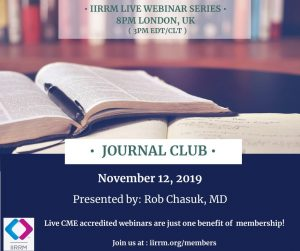 "November Journal Club: ""A Randomized Trial of Progesterone in Women with bleeding in Early Pregnancy"