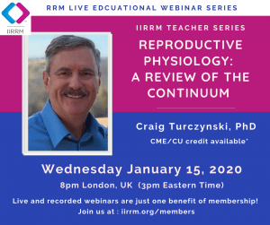 January Teacher Series: Reproductive Physiology: A review of the continuum (Part I)