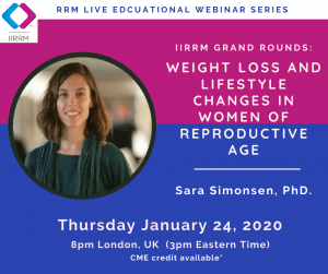 January Grand Rounds: Weight Loss and Lifestyle Changes in Women of Reproductive Age