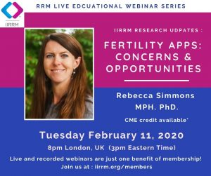 Research Updates: Fertility Apps: Concerns and Opportunities