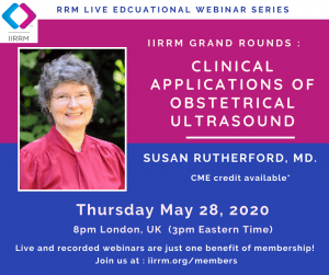 May Grand Rounds: Clinical Applications of Obstetrical Ultrasound
